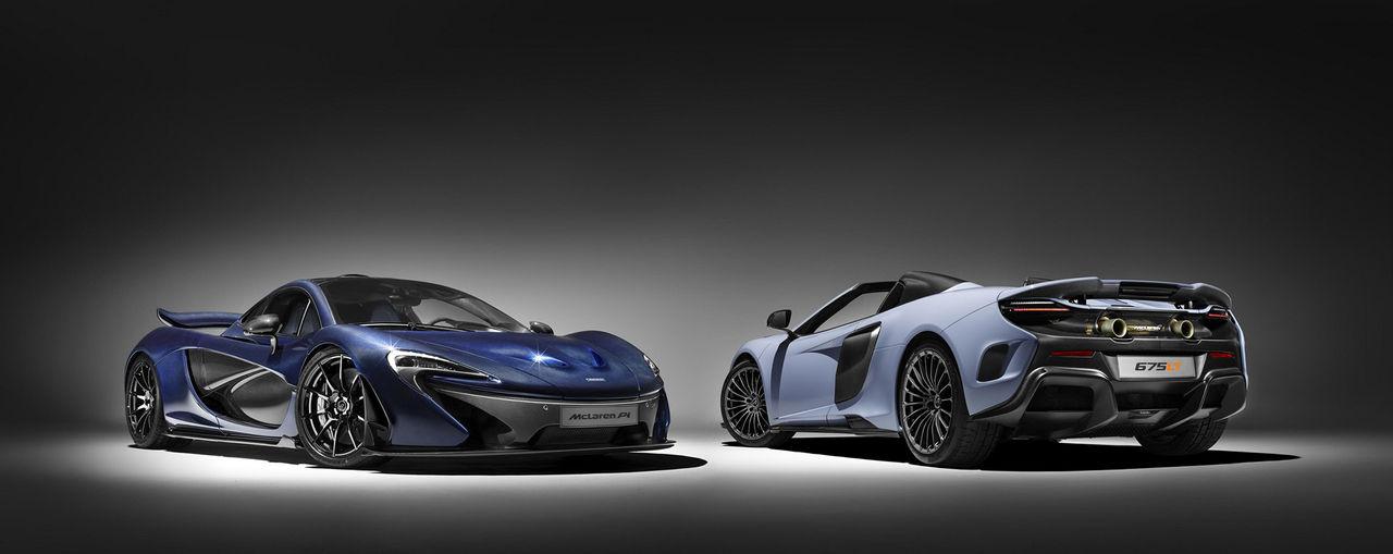 McLaren P1 och 675LT Spider med extra kolfiber