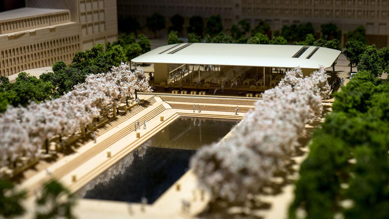 Här är Apples förslag på nya Apple Store Kungsträdgården