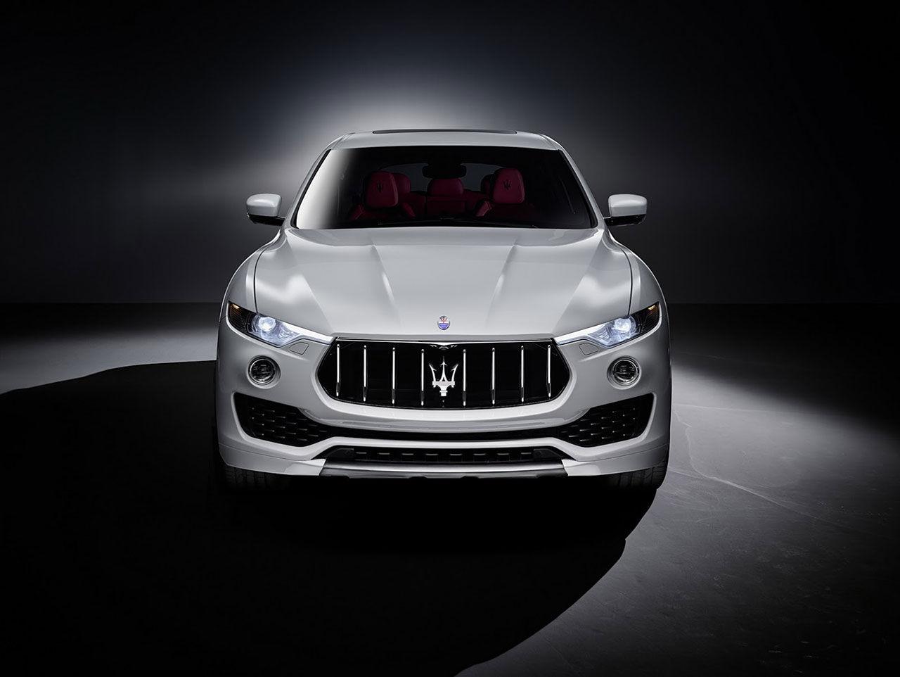 Så här ser Maseratis första suv ut