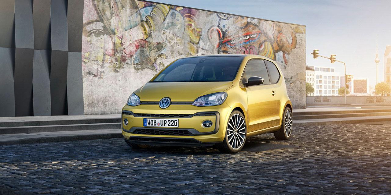 Volkswagen uppdaterar up!