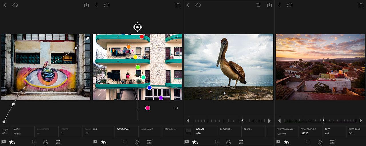 Adobes Lightroom-app för Android 2.0 fotar nu i DNG