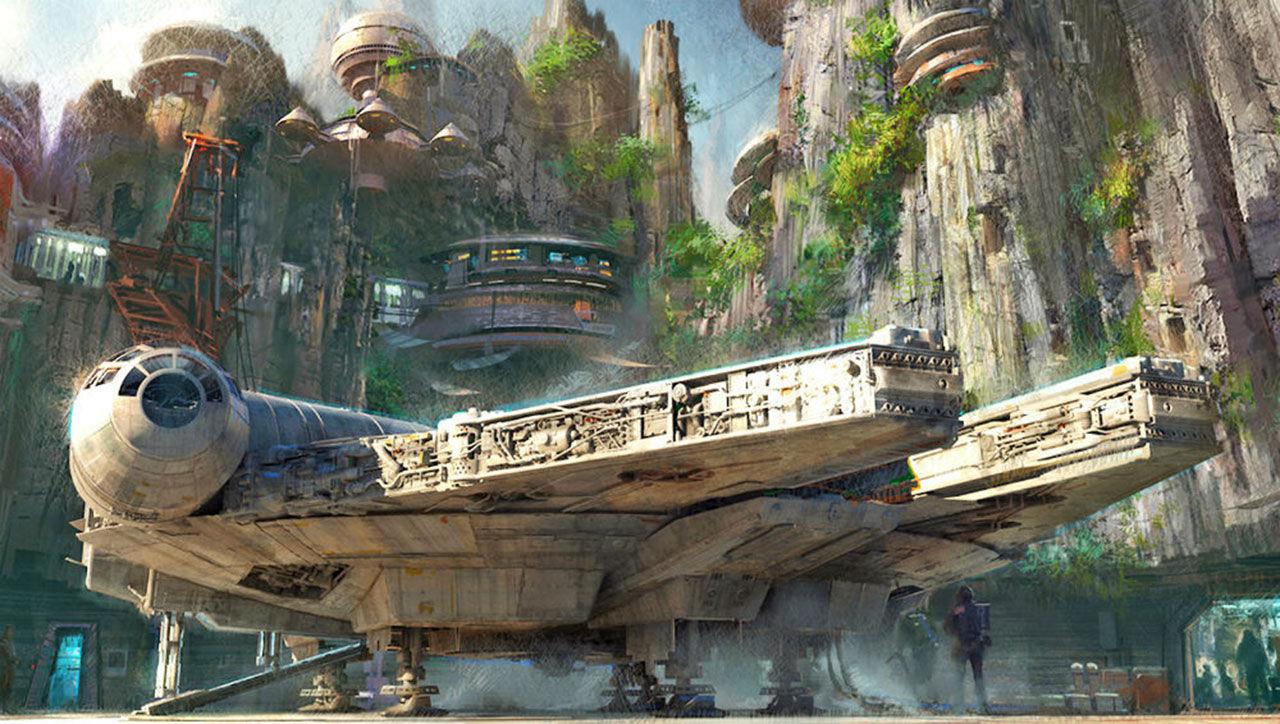 Star Wars-park kommer till Disneyland
