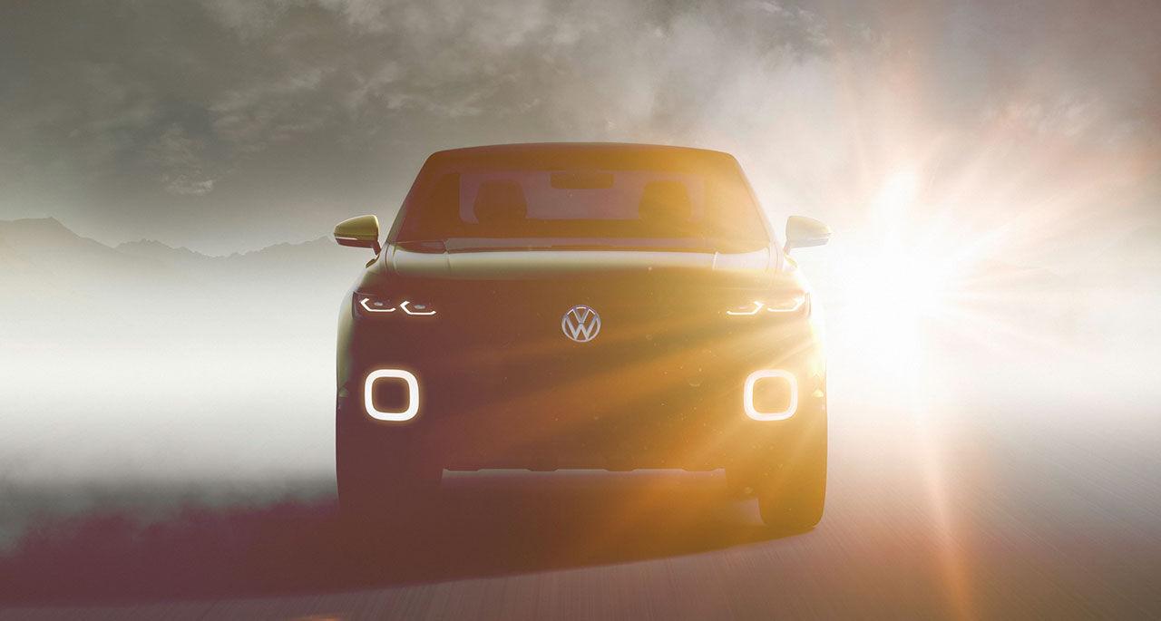 Volkswagen släpper teaser på ny liten crossover