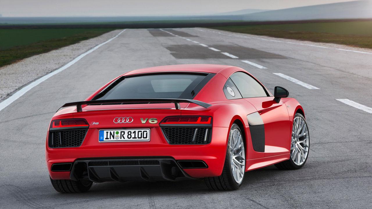 Audi R8 kommer med V6-motor