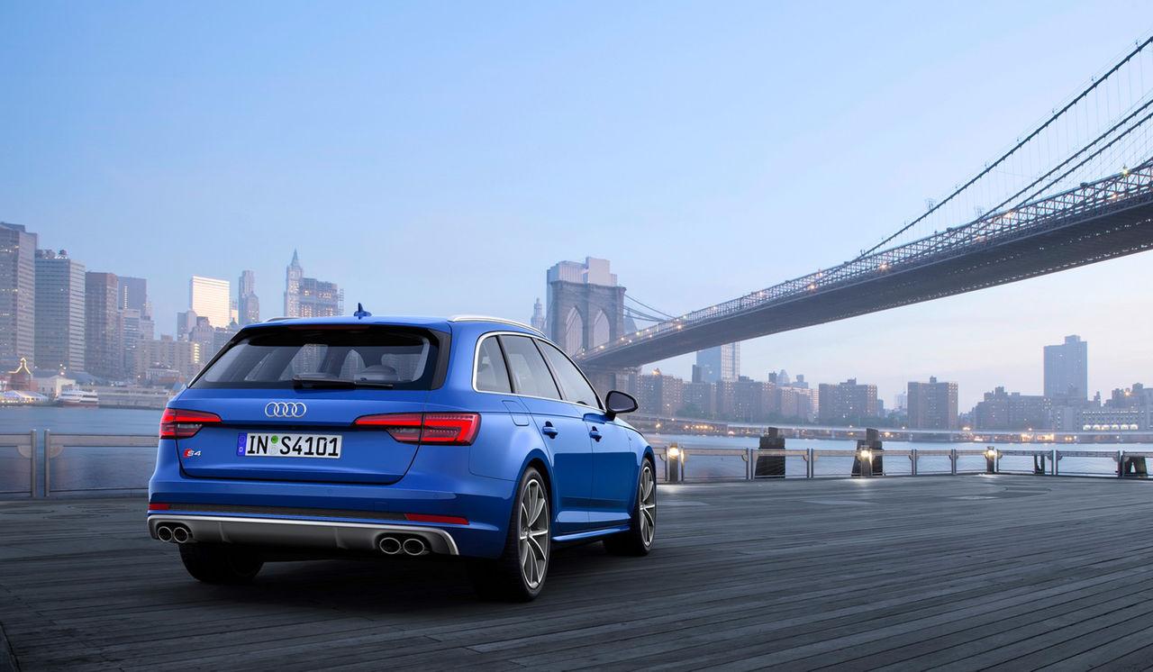 Audi visar nya S4 i kombiutförande