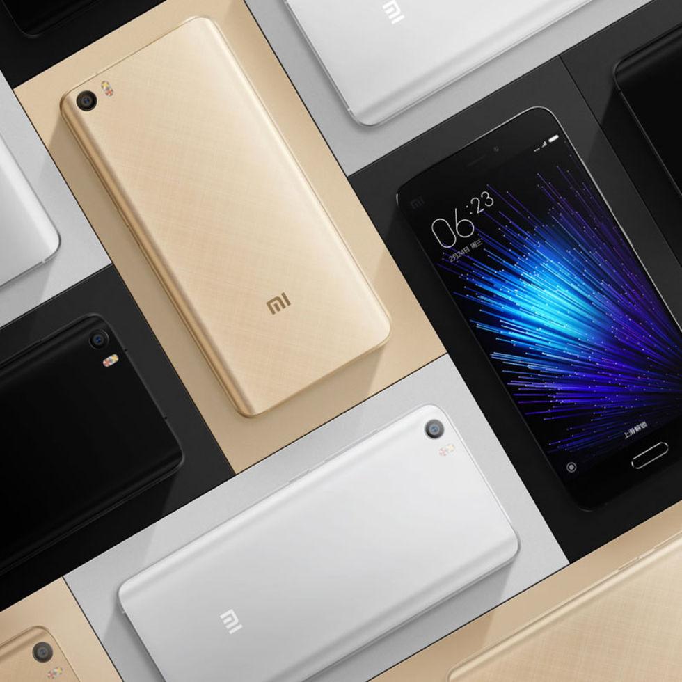 Xiaomi presenterar flaggskeppet Mi 5