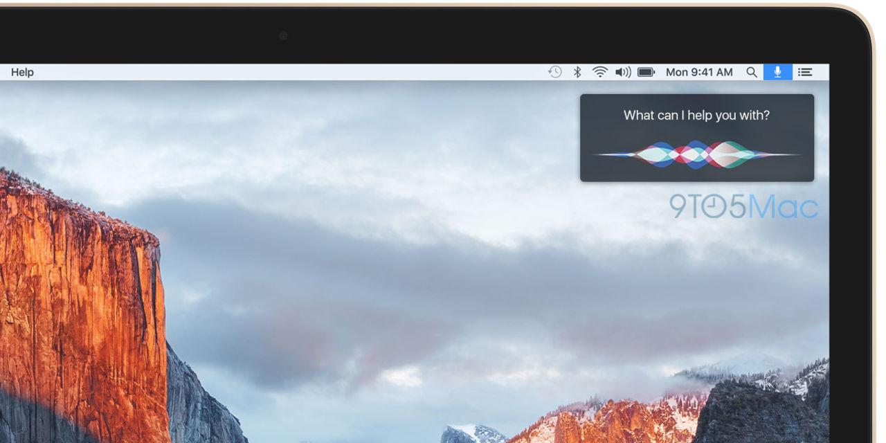 Siri kommer till OS X?
