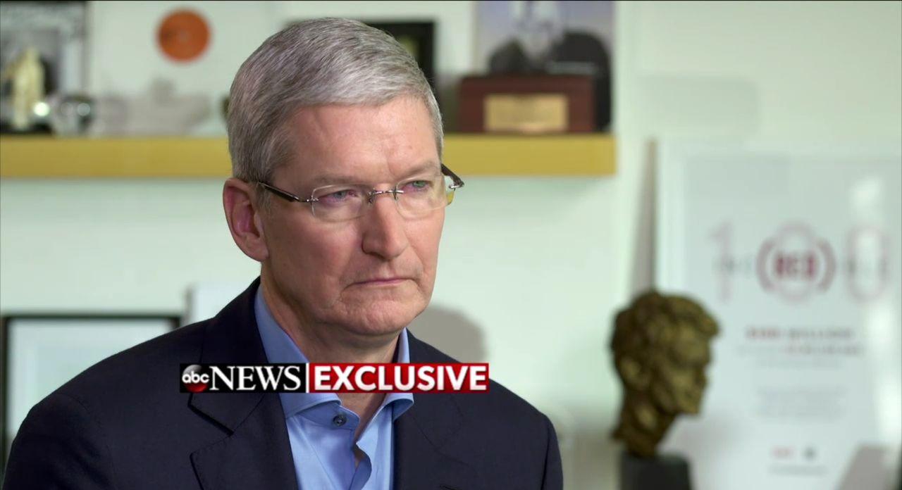 ABC intervjuar Apples Tim Cook