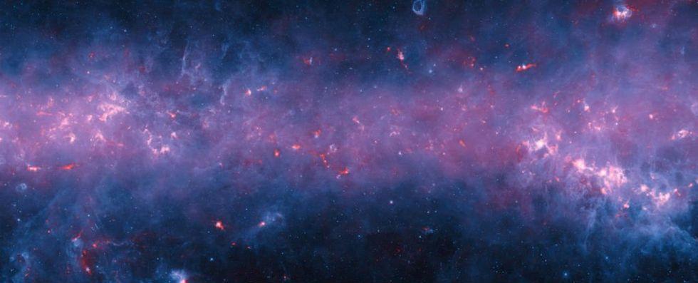 ESO släpper ny bild på Vintergatan