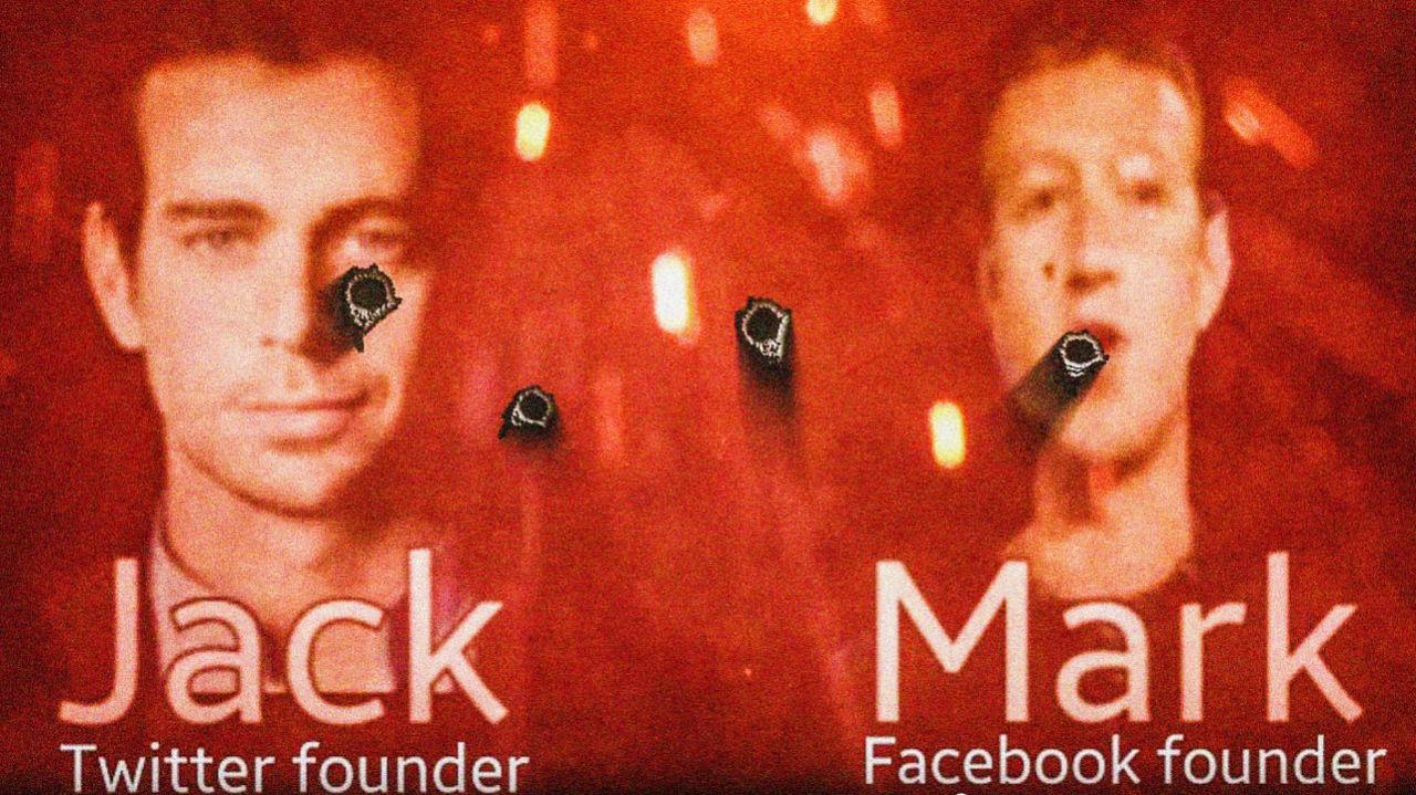 IS hotar Facebook och Twitters chefer