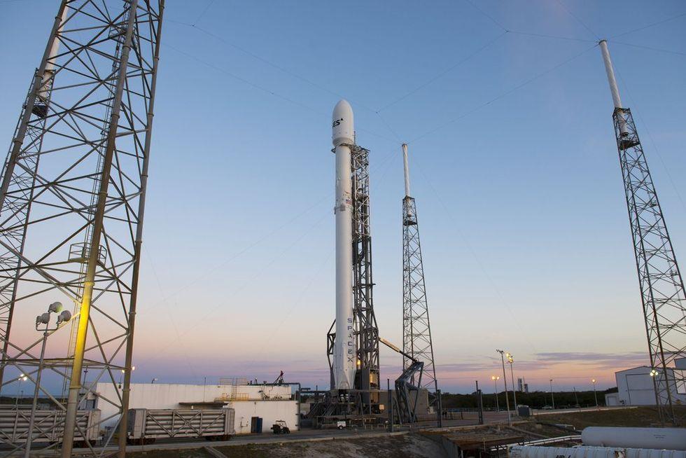 SpaceX gör nytt försök att skjuta upp Falcon 9 i natt