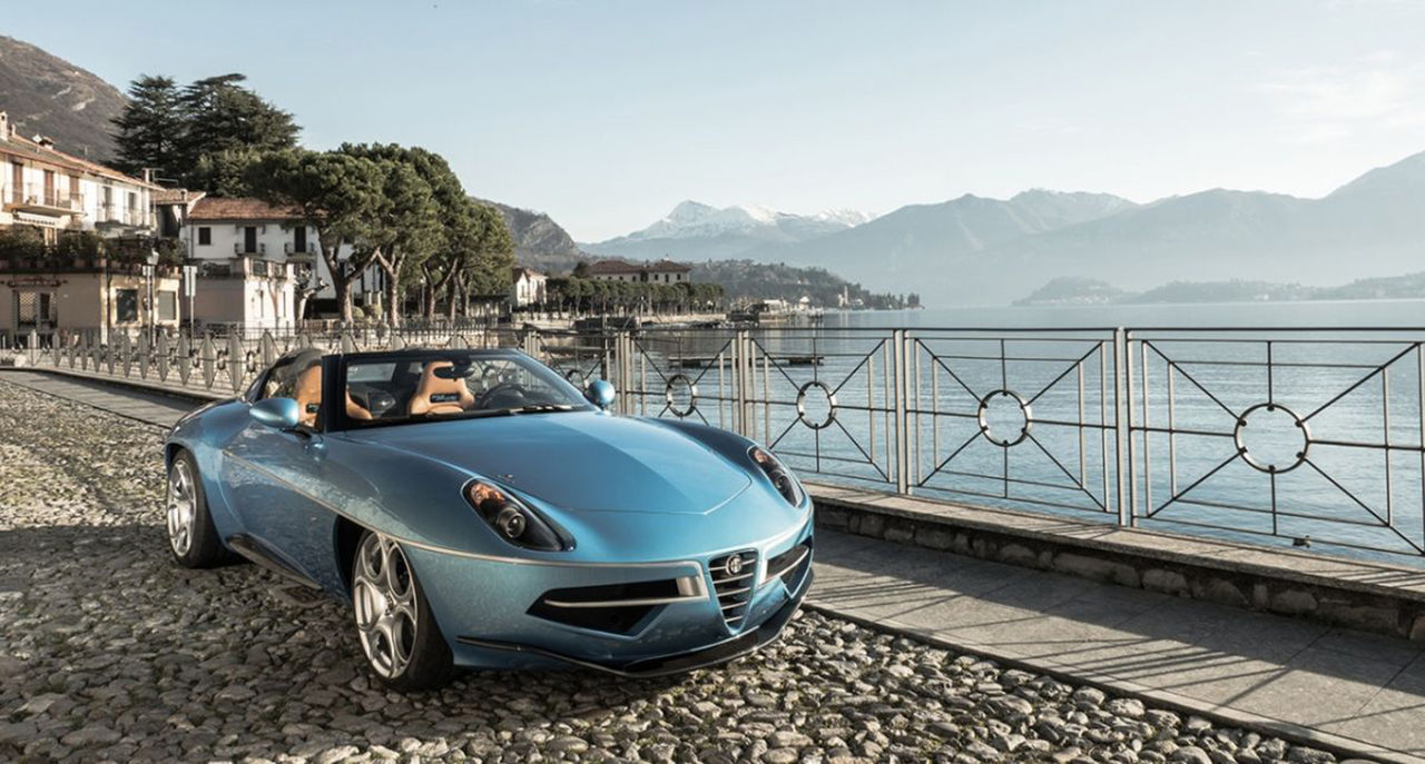 Alfa Romeo Disco Volante nu som cabriolet