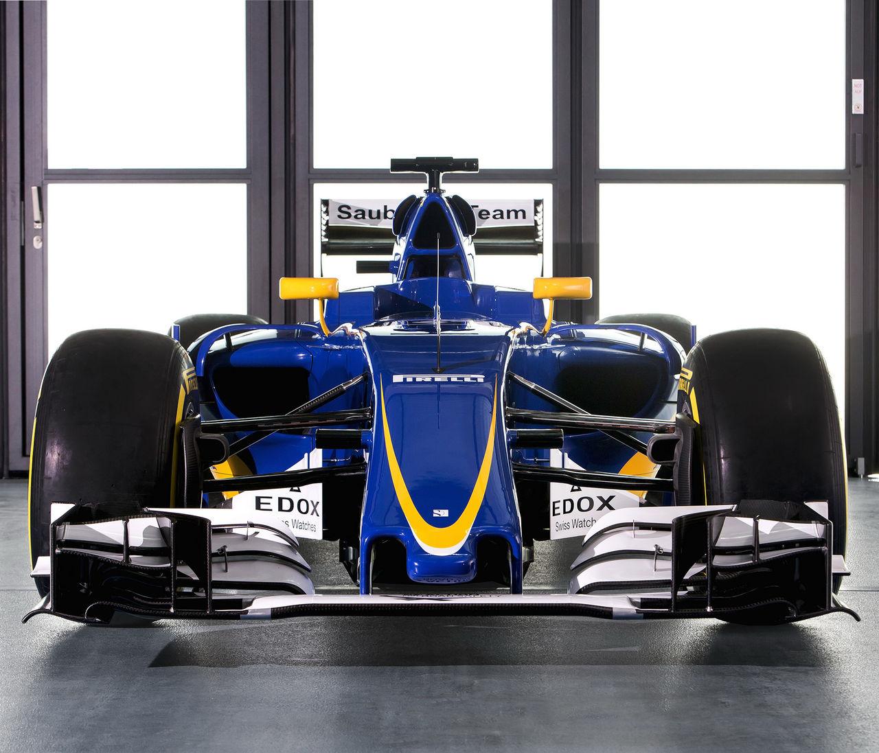 Det här är Marcus Ericssons nya bil