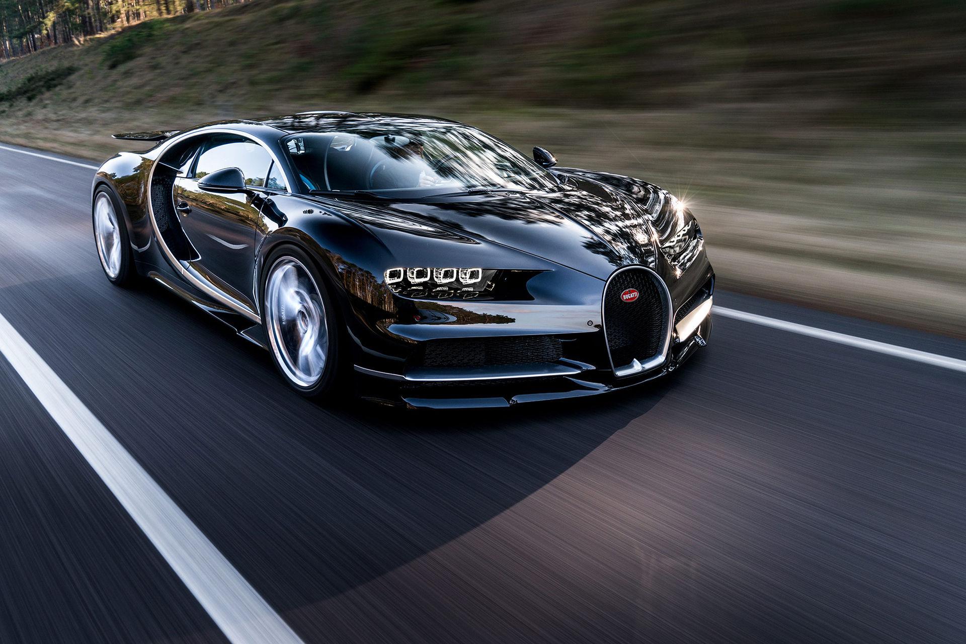 Årets hetaste bil är här - Bugatti Chiron