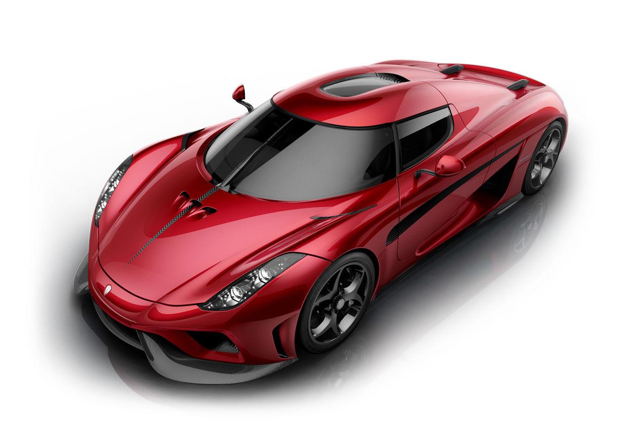 Koenigsegg visar produktionsversionen av Regera