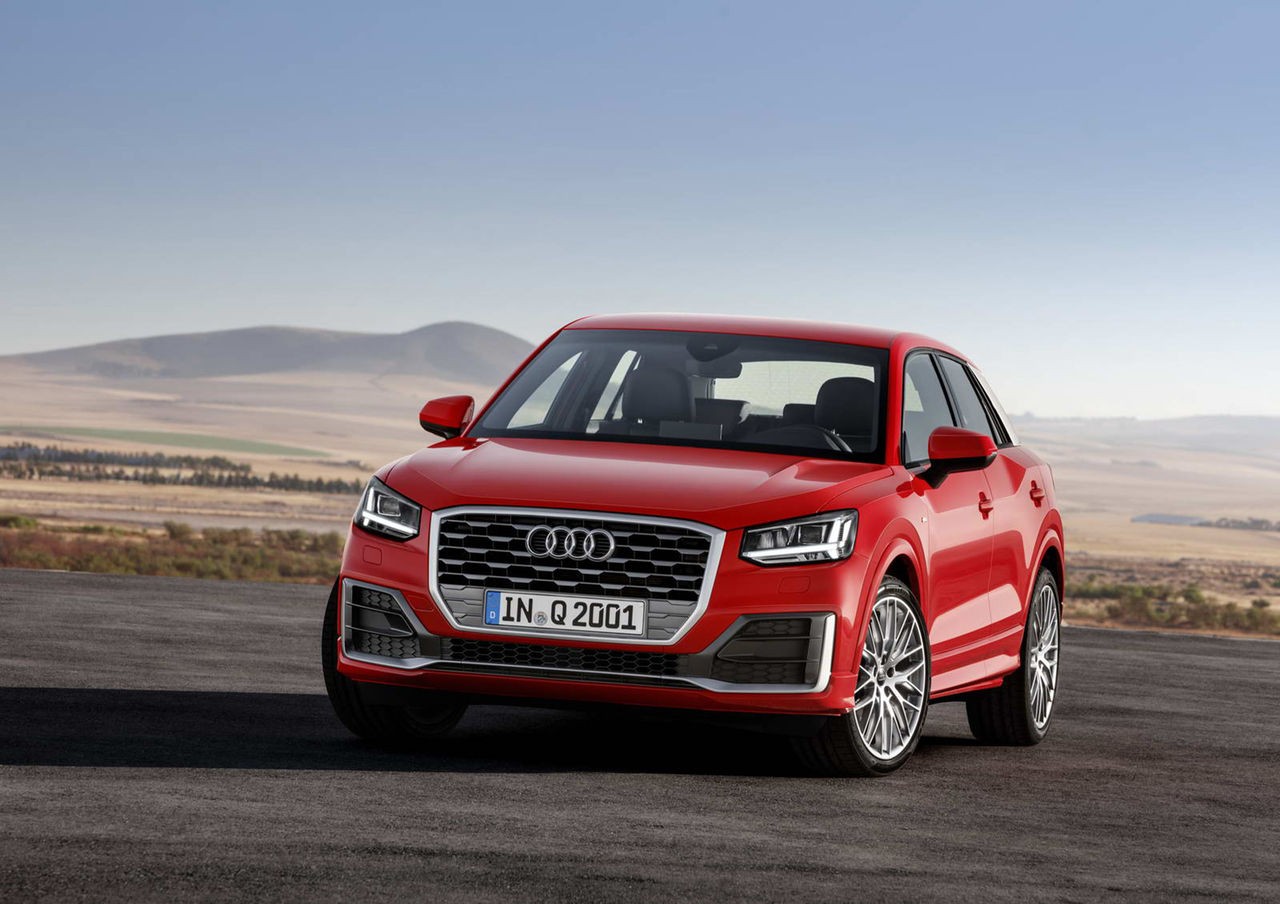 Audi presenterar den kompakta suven Q2