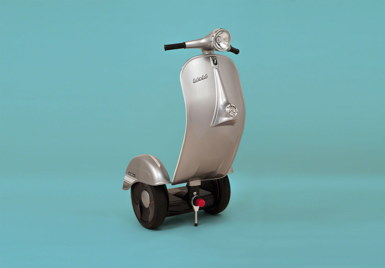 En scooter som balanserar själv