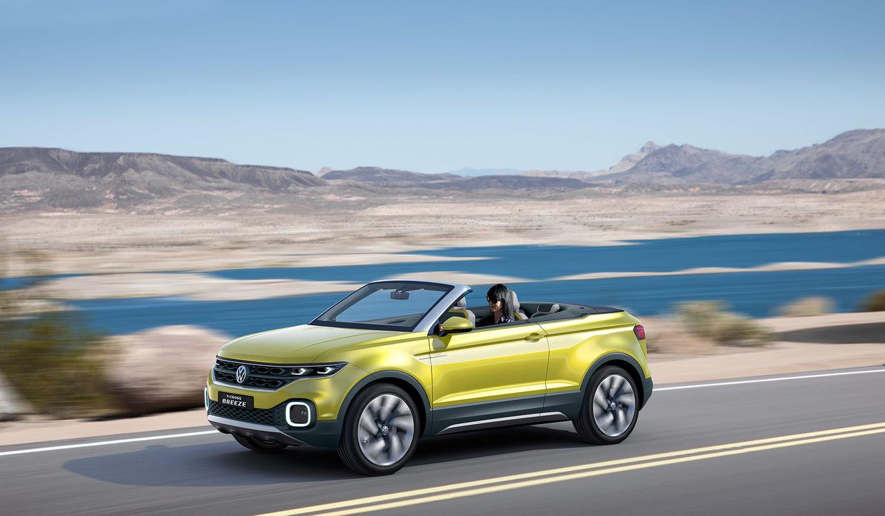 Volkswagen gör en Evoque-cab