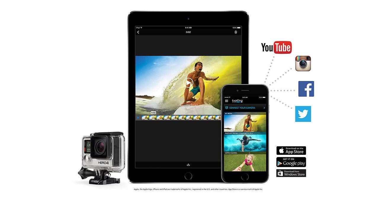 GoPro köper upp videoredigeringsapparna Replay och Splice