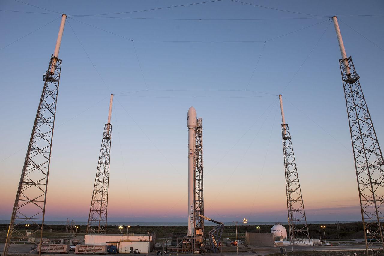 SpaceX gör ett nytt Falcon 9-försök i natt