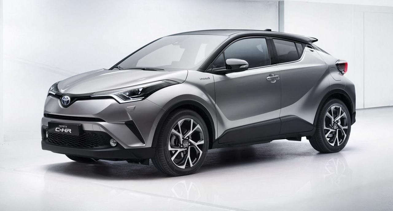 Toyota C-HR i produktionsutförande