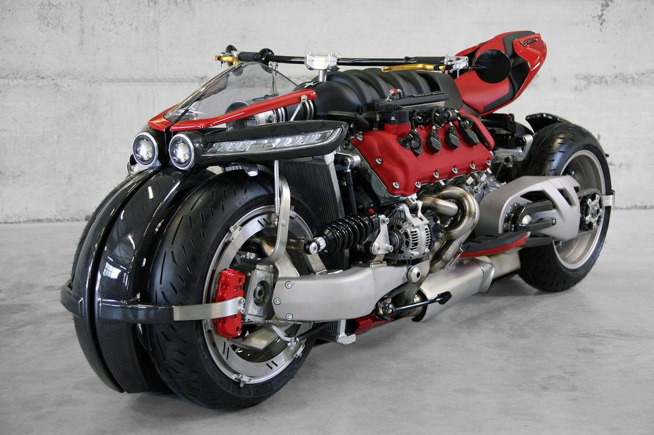 Lazareths senaste hojbygge har Maseratimotor