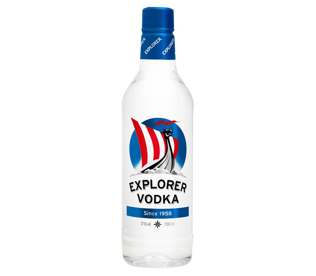 Explorer Vodka byter till plastflaska