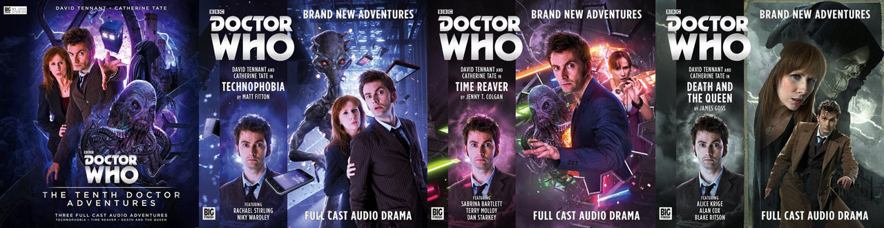 Teaser för The Tenth Doctor Adventures