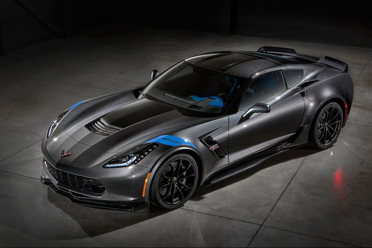 Chevrolet presenterar Corvette med Z06-utseende