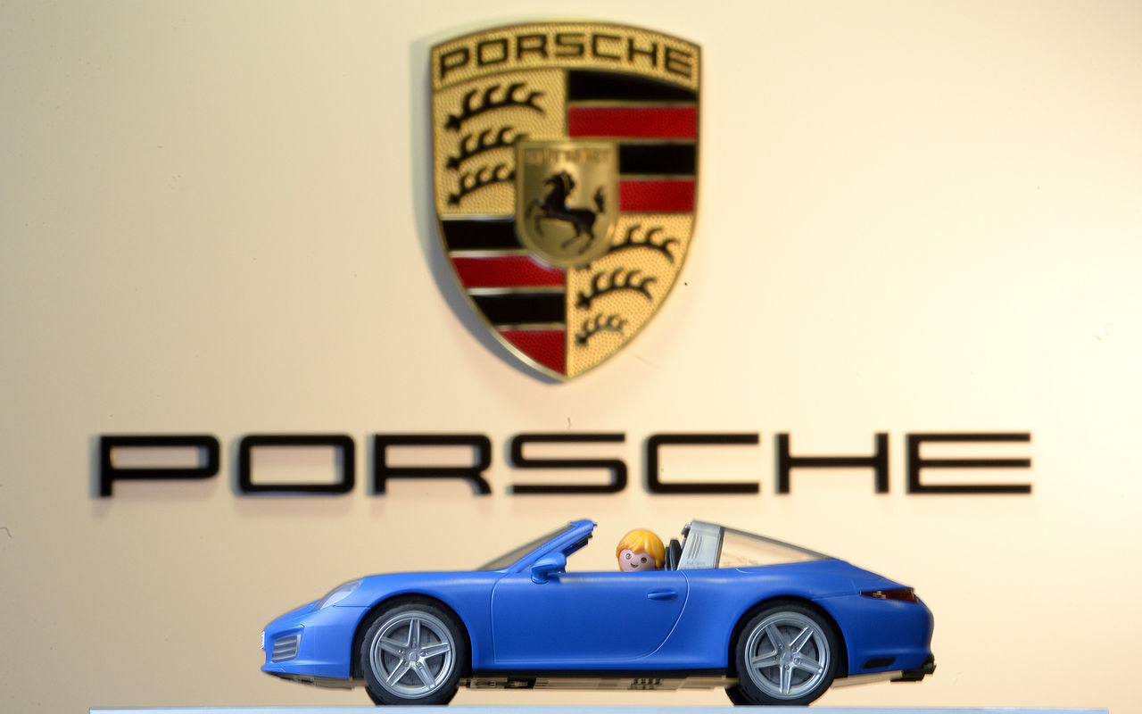 Porsche 911 Targa 4S nu som Playmobil-modell