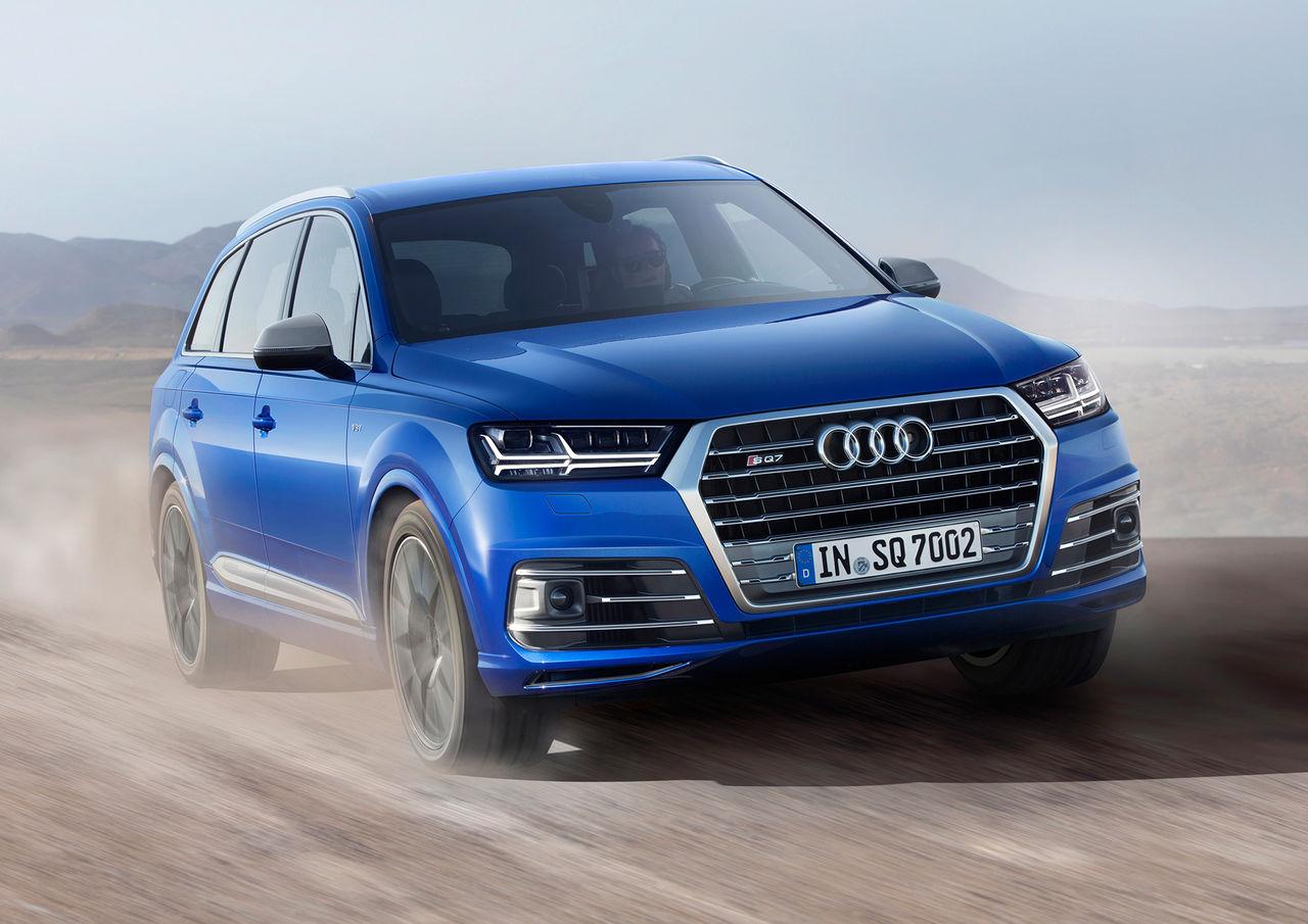 Audi presenterar prestandadieseln SQ7
