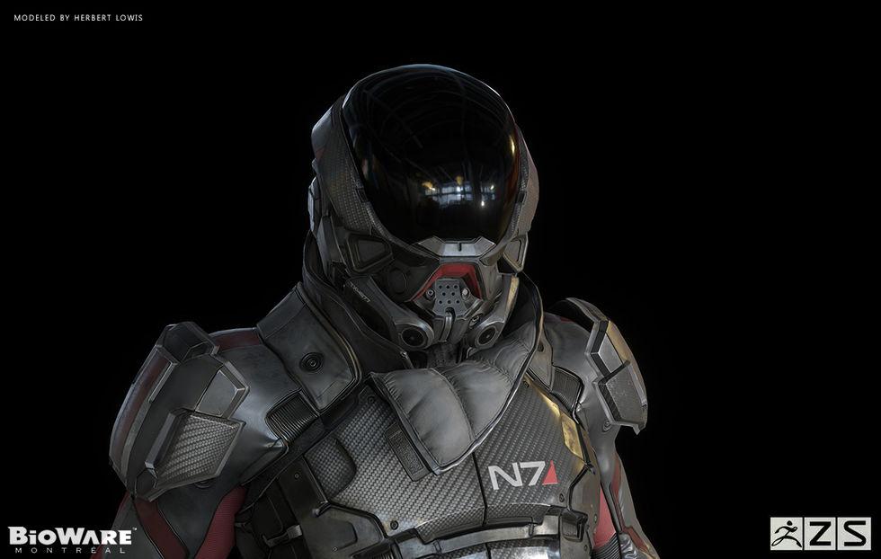 En närmare titt på Mass Effects nya protagonist