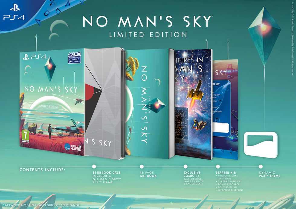 Släppdatum för No Man's Sky