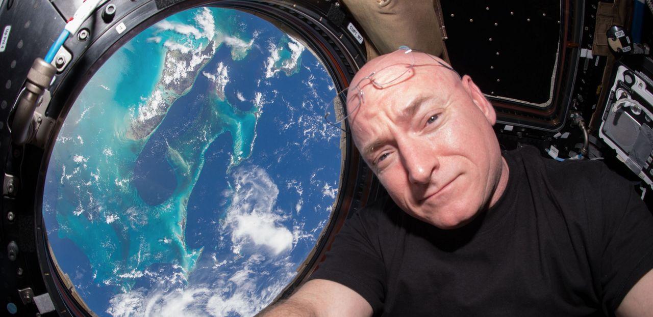 Scott Kelly blev längre i rymden