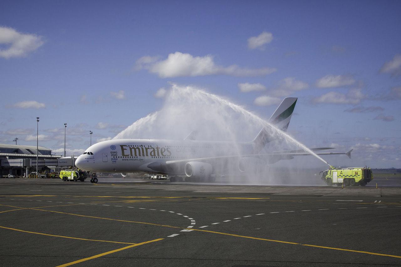 Emirates börjar flyga Dubai - Auckland