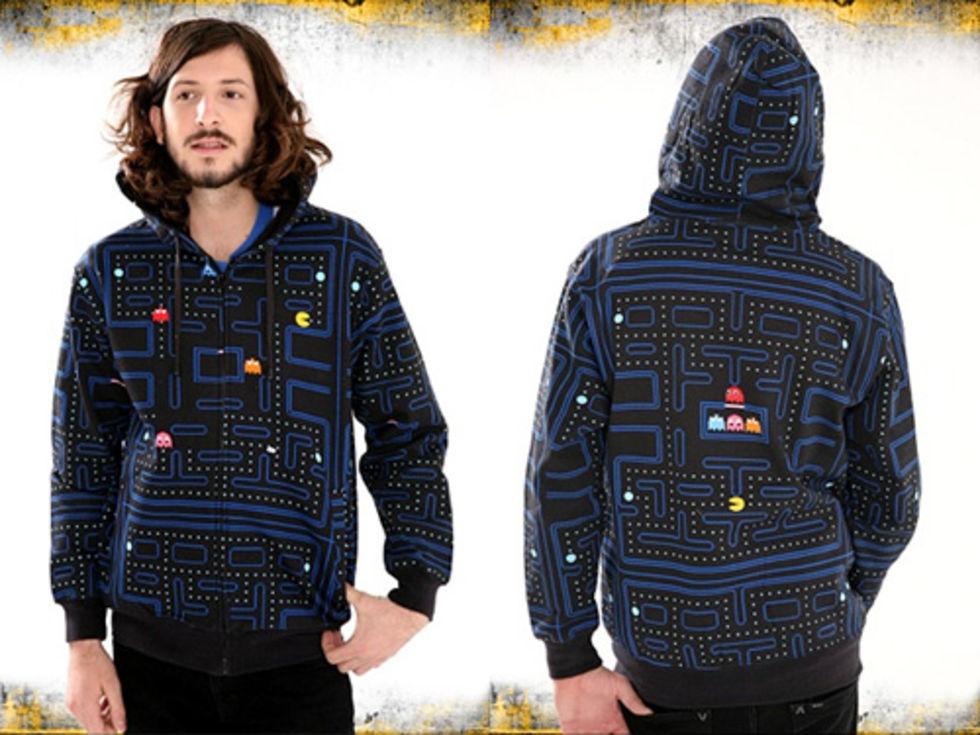 Pac-Man Hoodie Maze
