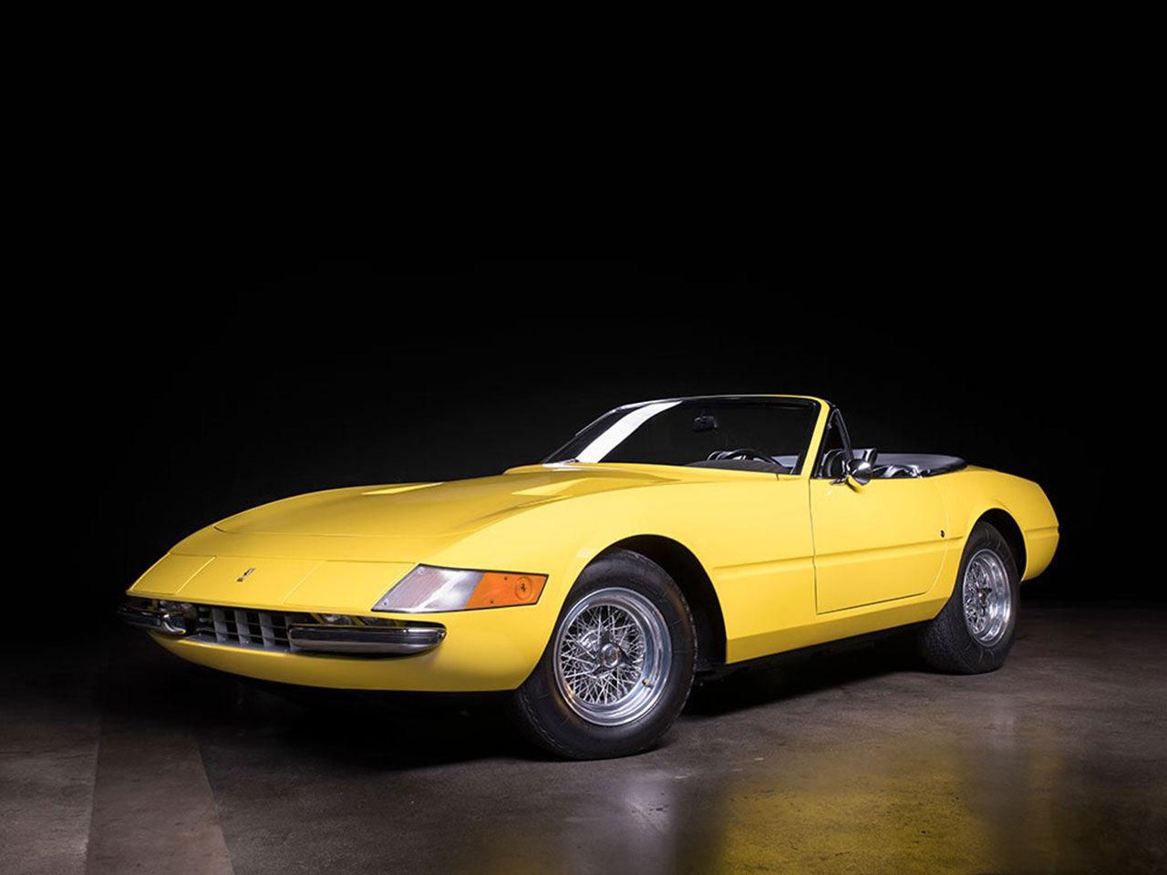 Sällsynt Ferrari Daytona Spyder auktioneras ut