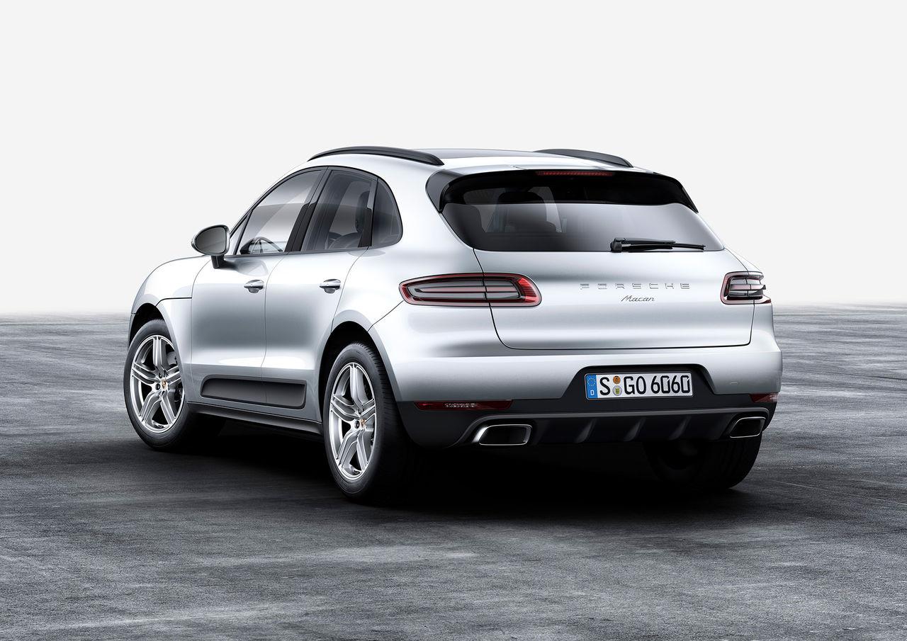 Porsche Macan får turbofyra