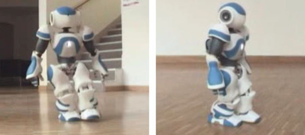 Den franska roboten Nao