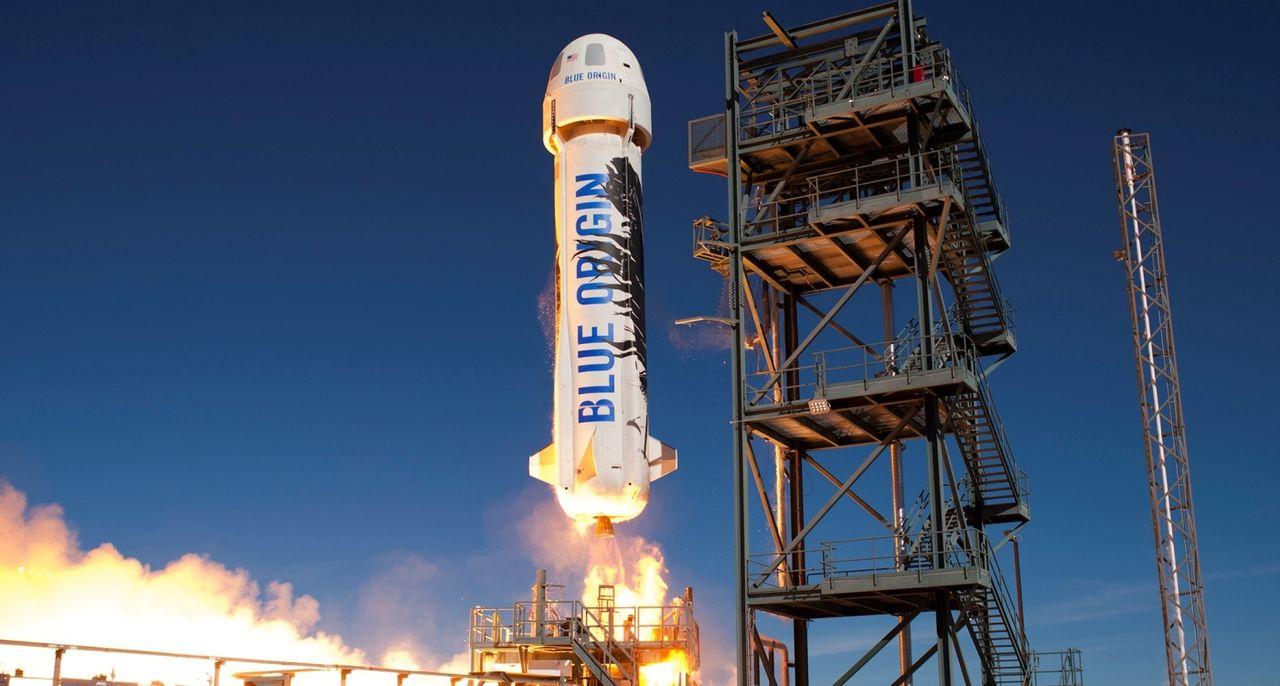 Blue Origin siktar på att ta turister till rymden 2018