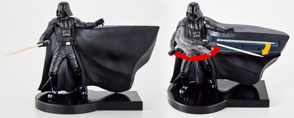 Star Wars-inspirerad tandpetarhållare