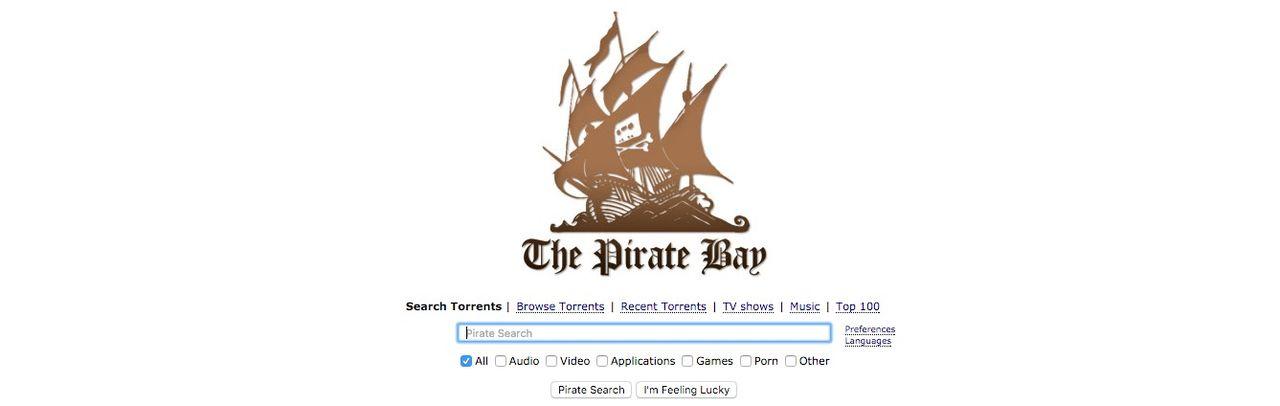 Nu är The Pirate Bay uppe igen