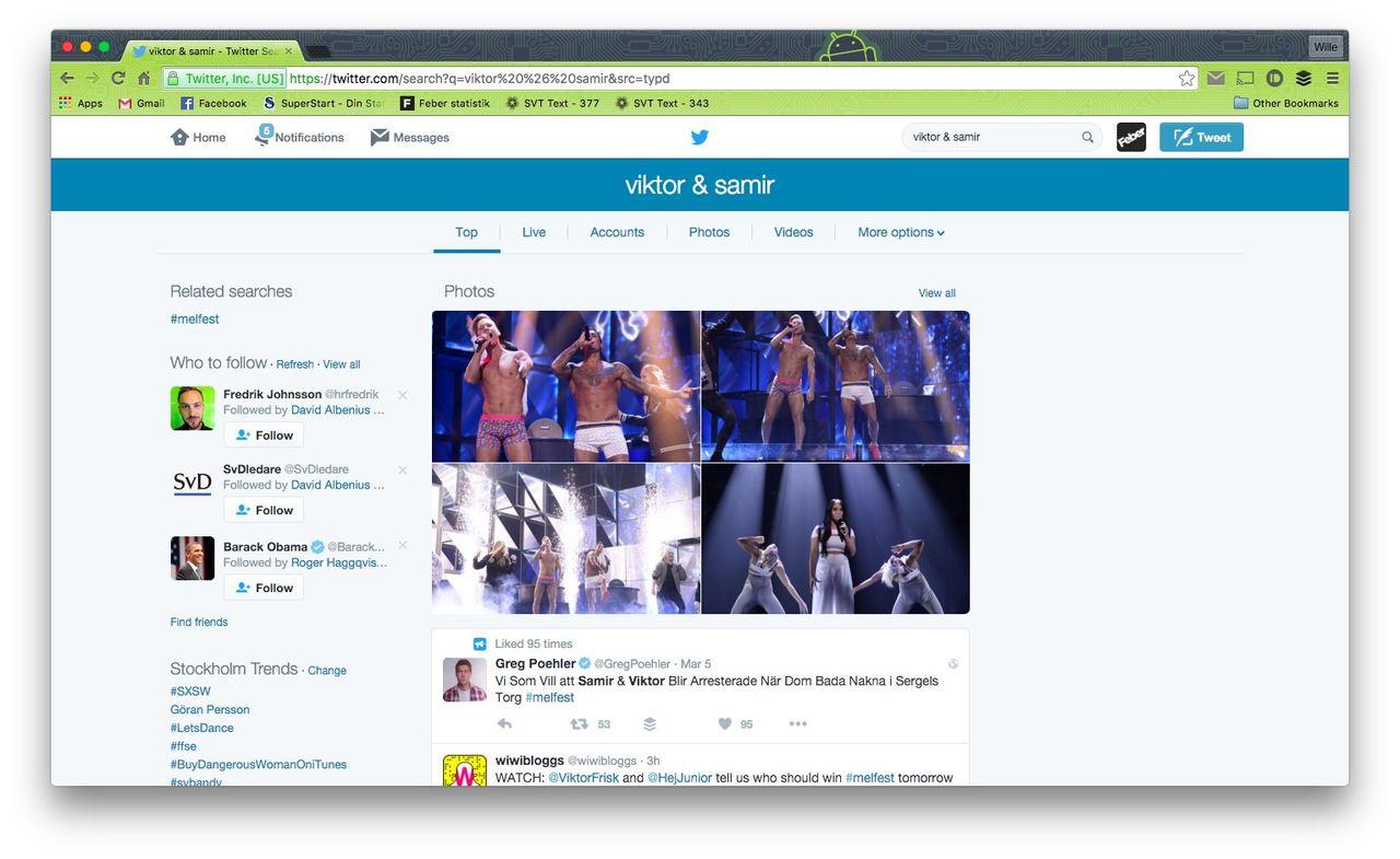 Samir & Viktor störst i sociala medier