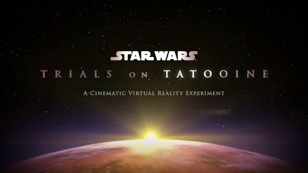 Star Wars i VR kommer till HTC Vive