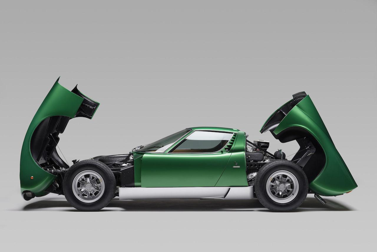 Klassisk Lamborghini grundligt renoverad