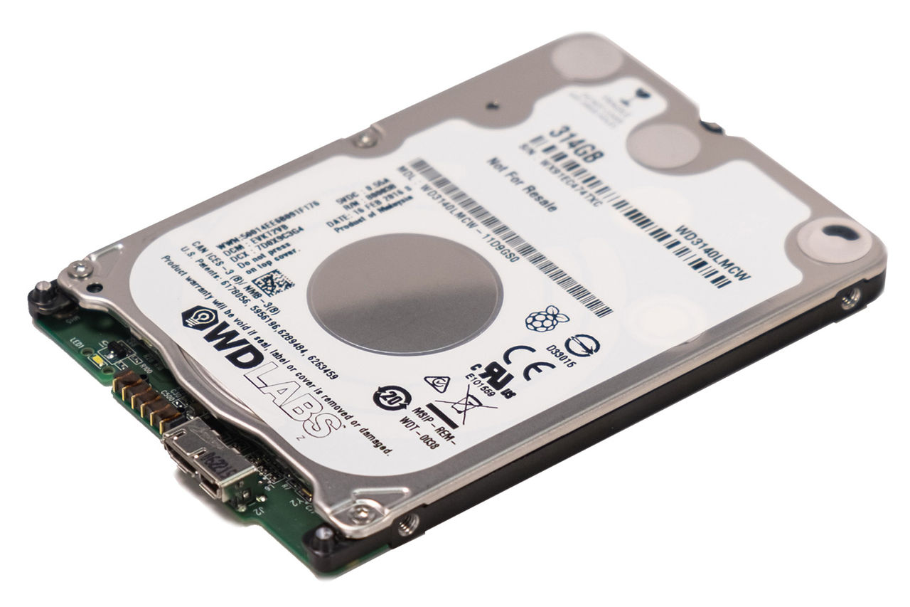 Western Digital släpper hårddisk anpassad för Raspberry Pi