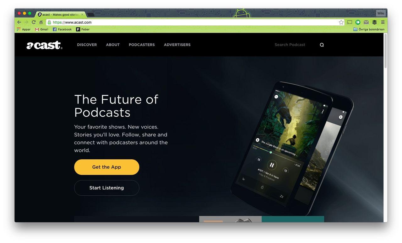 Acast har nu 30 miljoner lyssnare i månaden