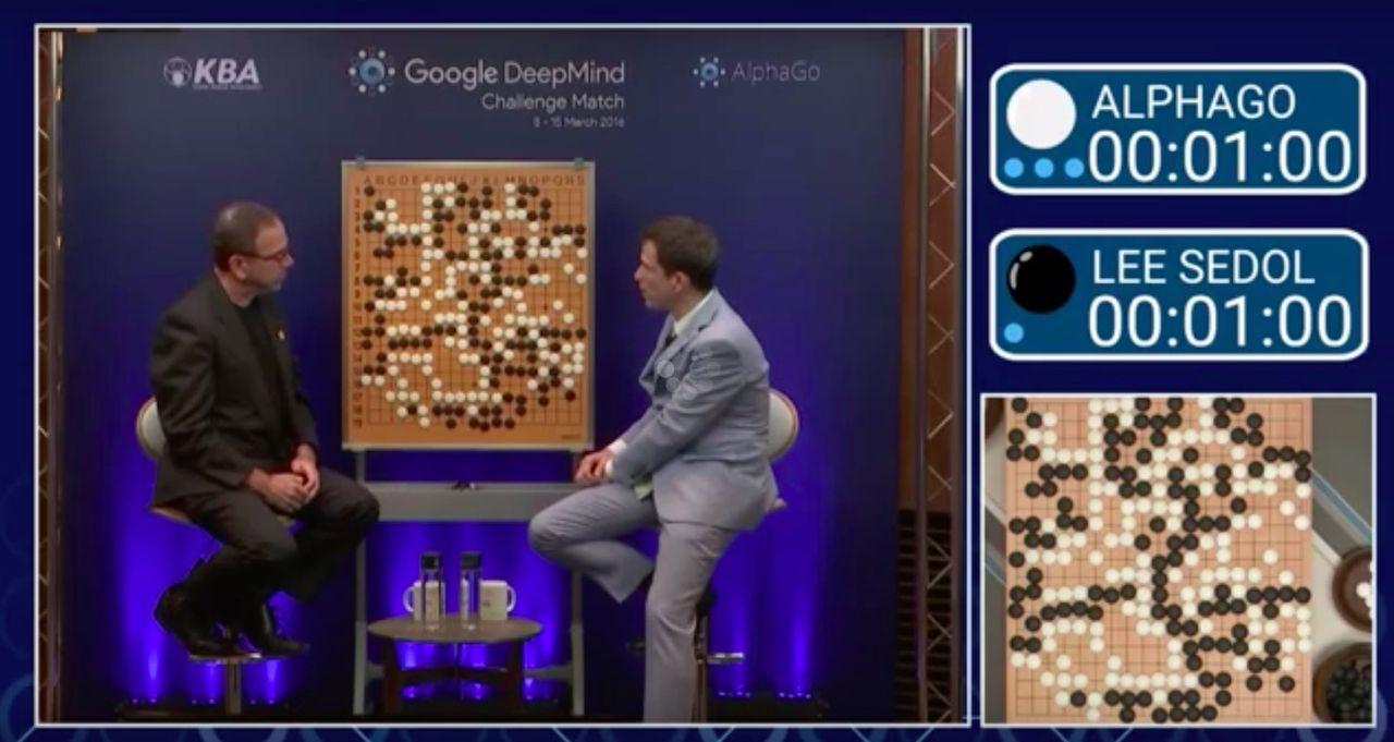 AlphaGo vann sista matchen mot Lee Se-Dol