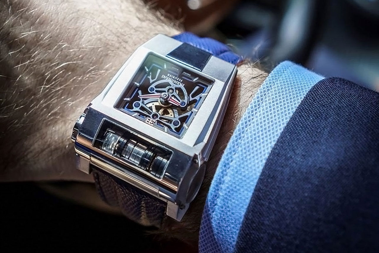 Parmigiani Fleurier tar fram Bugatti Chiron-klocka