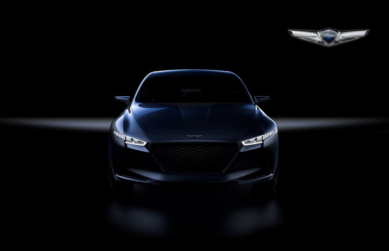 Hyundai visar New York Concept på New York Auto Show